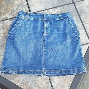 Tommy Hilfiger jean skirt with pockets 2004